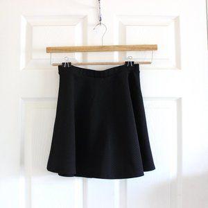 Forever 21 Black Knit Skater Skirt